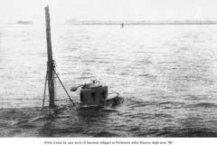1916-sommergibile-Delfino-Venezia-affioramento-USMM