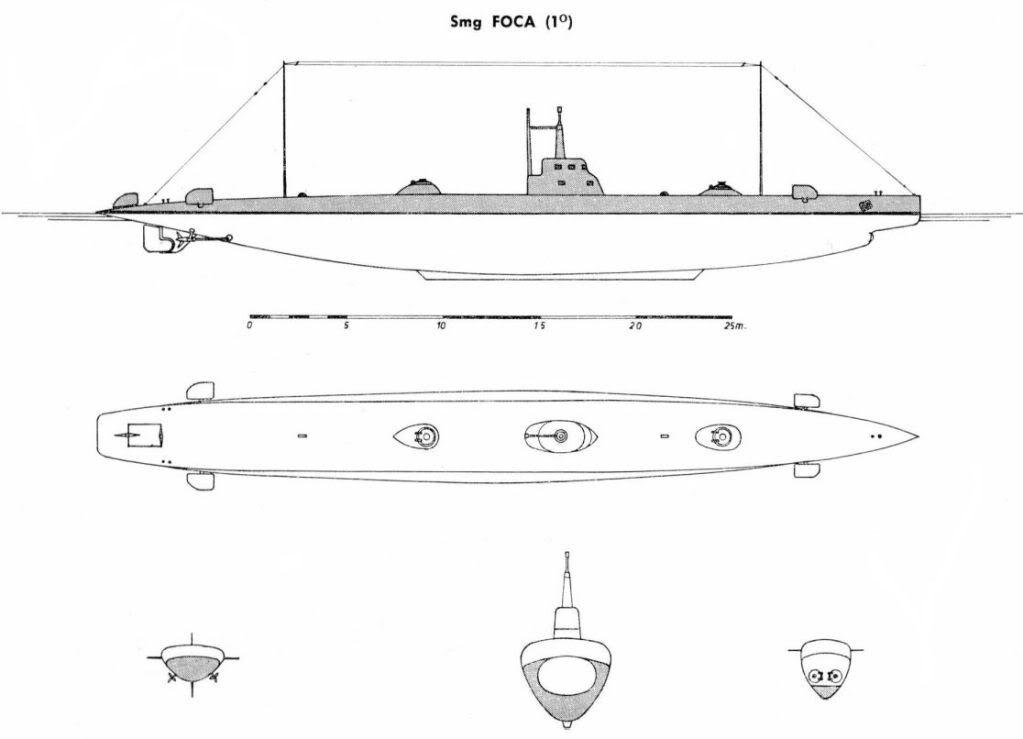 Disegno-sommergibile-Foca-1907