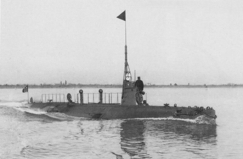 Sommergibile-Glauco-navigazione-venezia-1914